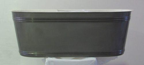 The Patricia Urquiola steel Vieques bathtub