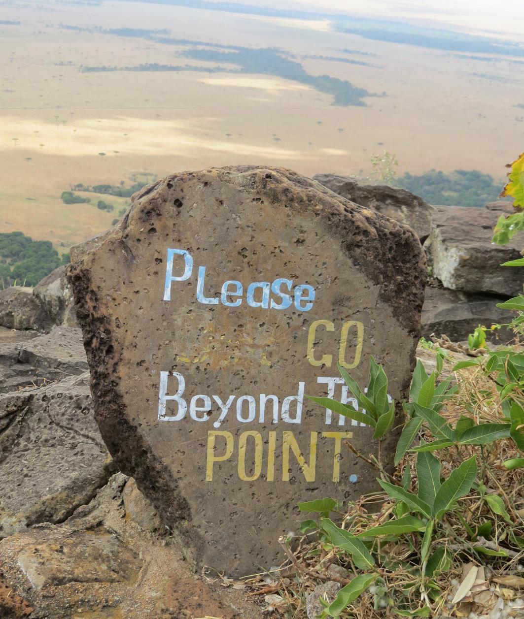 Olkurruk sign at Angama Mara