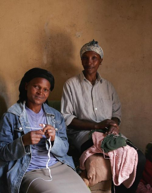 Toto Knits has worked hard to provide employment and purpose