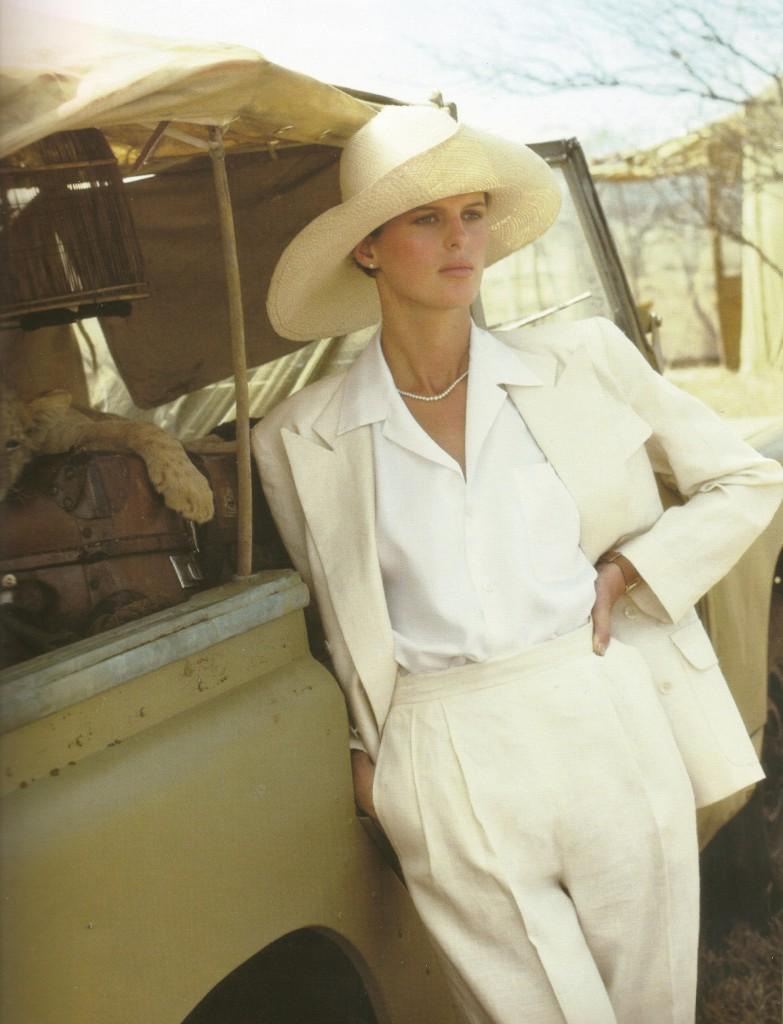 Josie Borain - Ralph Lauren Campaign 1984