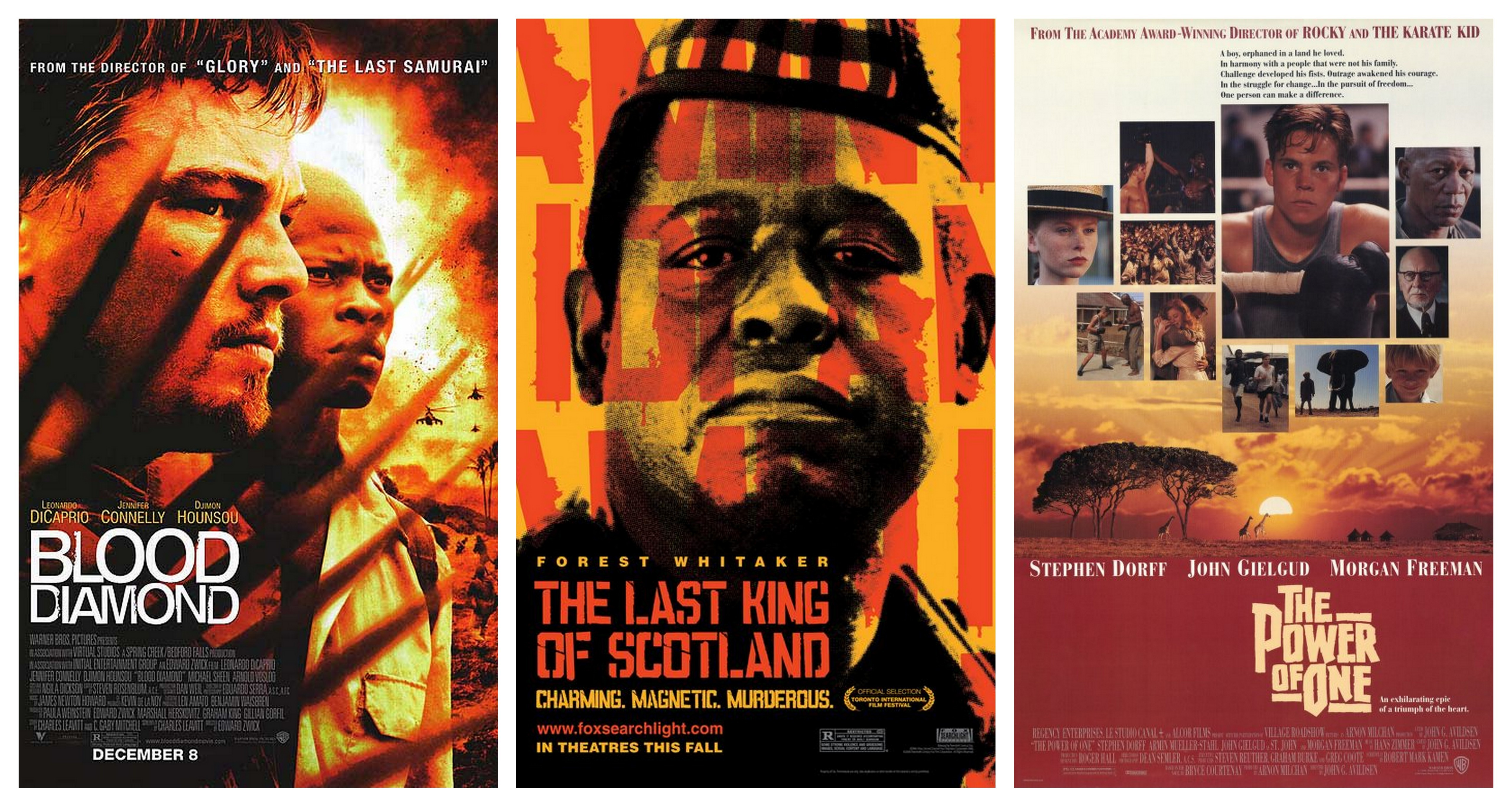 Musings of an African Film - Poster Collage