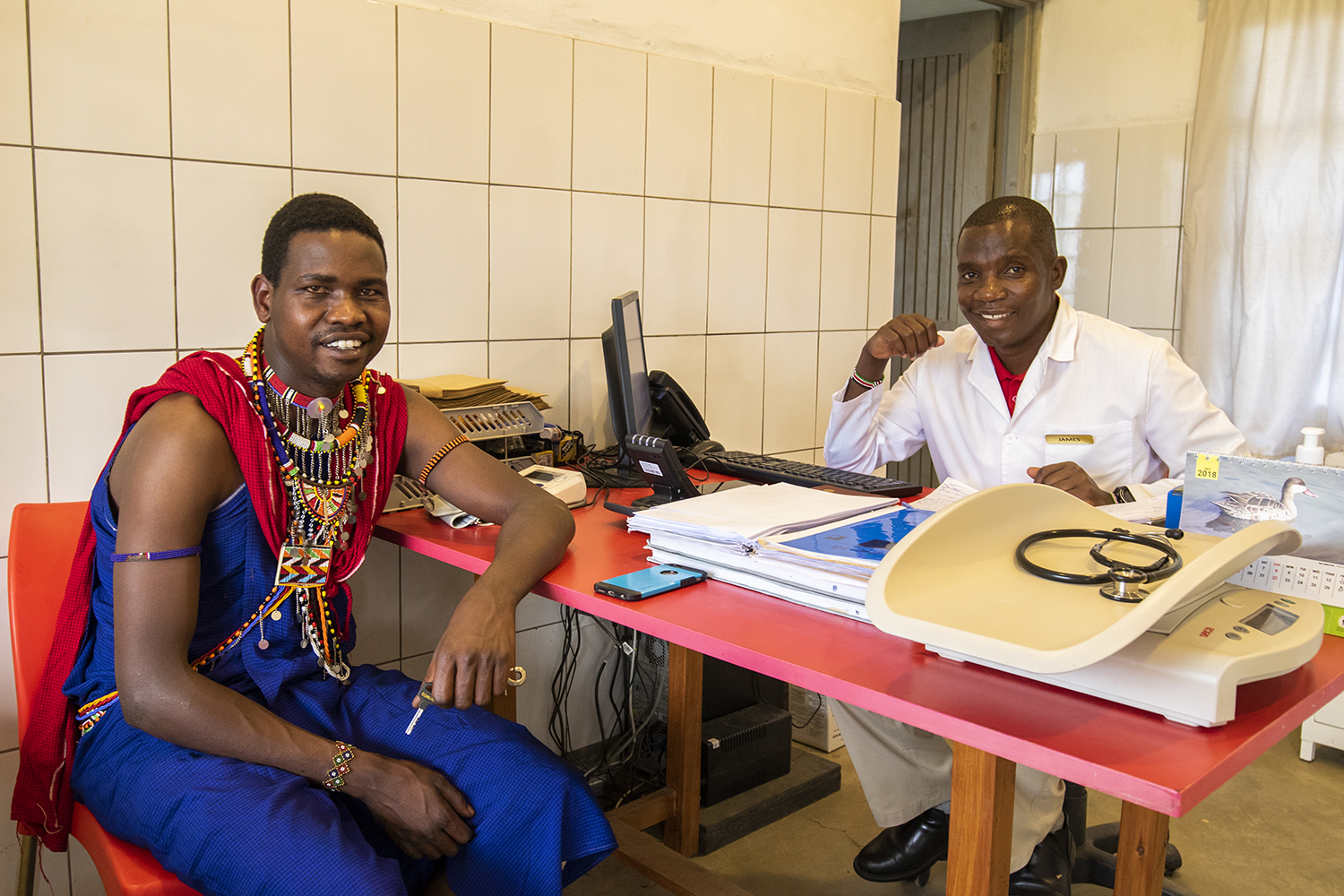 Smiles at the angama clinic