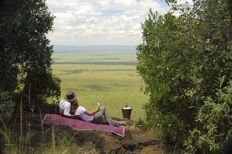 Out of Africa views