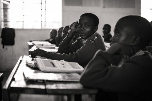 The Angama Foundation supports numerous schools in the area
