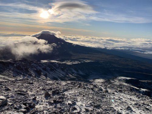 Mount Kilimanjaro captured at sunrise by Shannon Davis