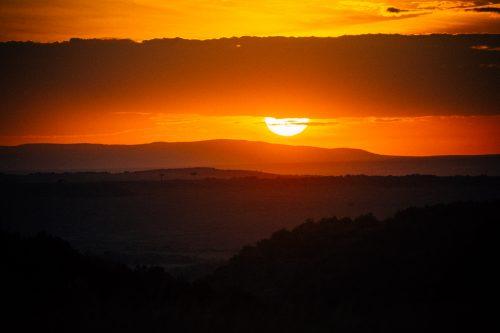 Sunrise in the Maasai Mara