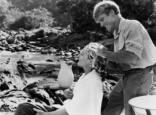 The famous hair-washing-poetry-reciting scene from Out of Africa that inspired our blog's tongue in cheek name