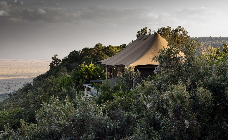 Angama tented camp