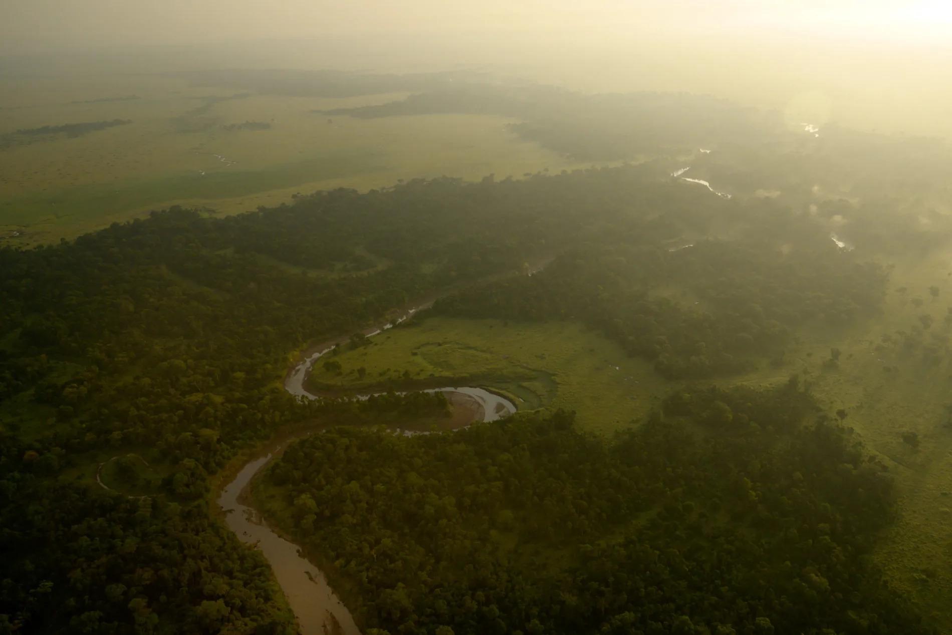 mara river aerial 2