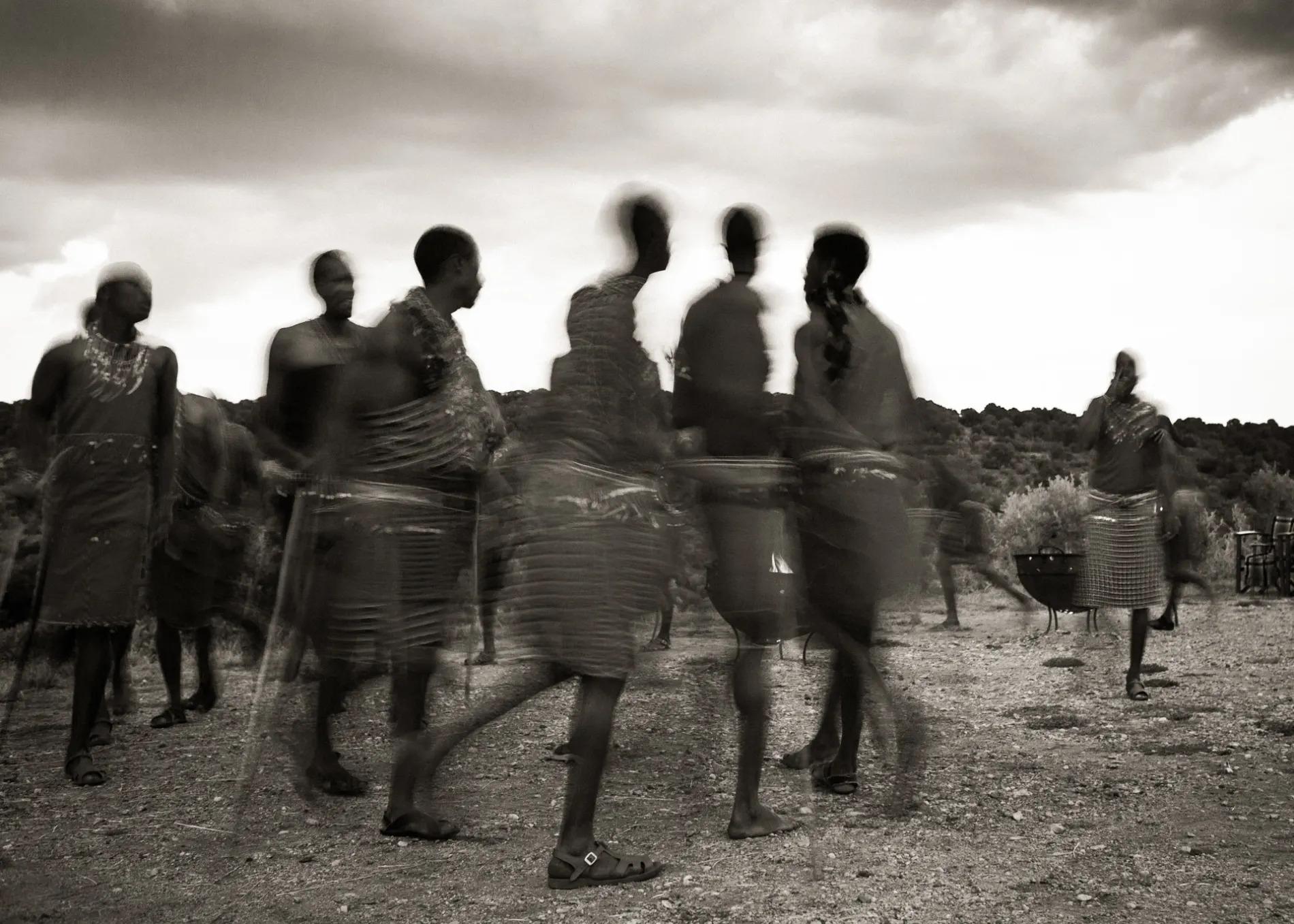 Sepia Maasai
