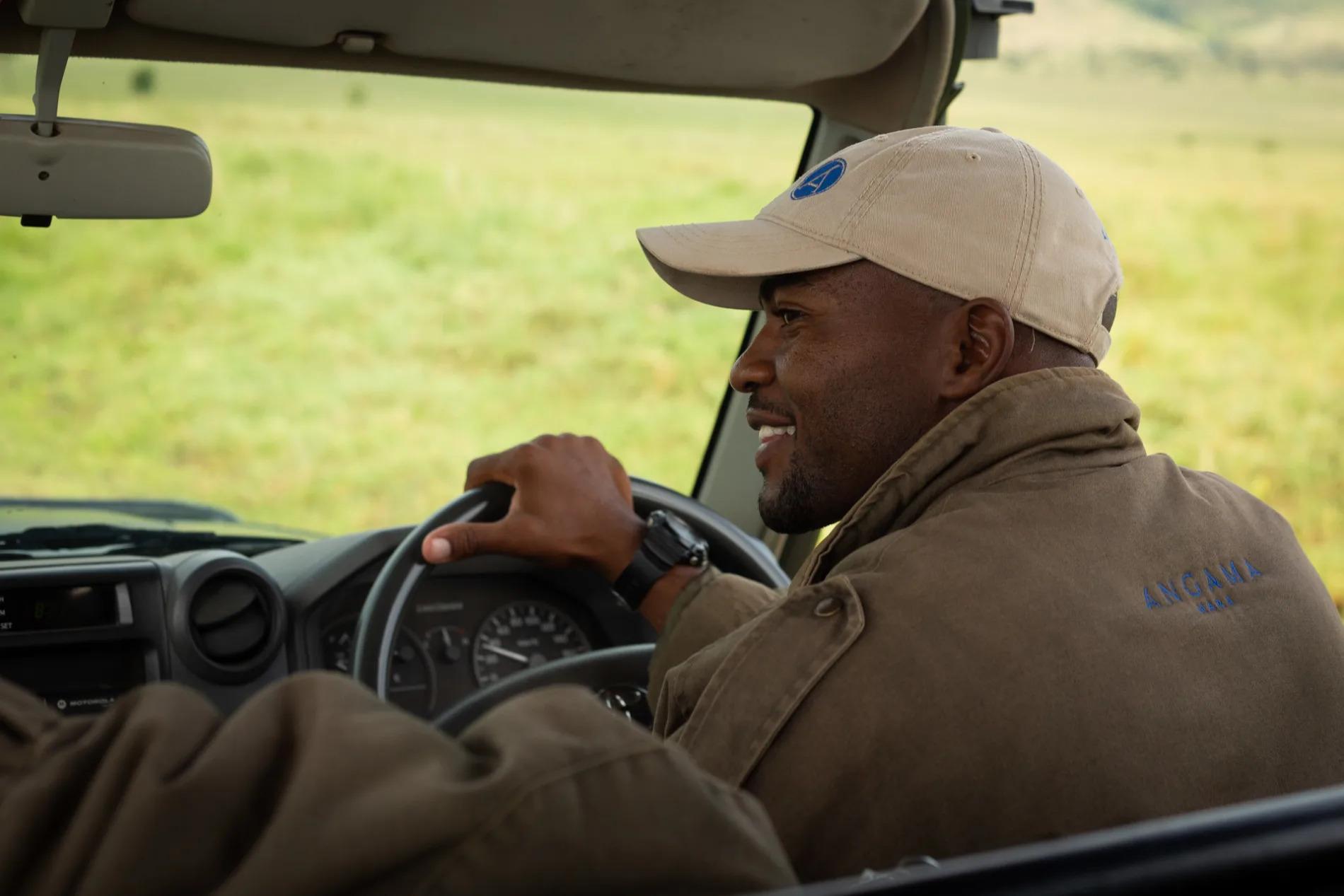 Guide driving in Mara