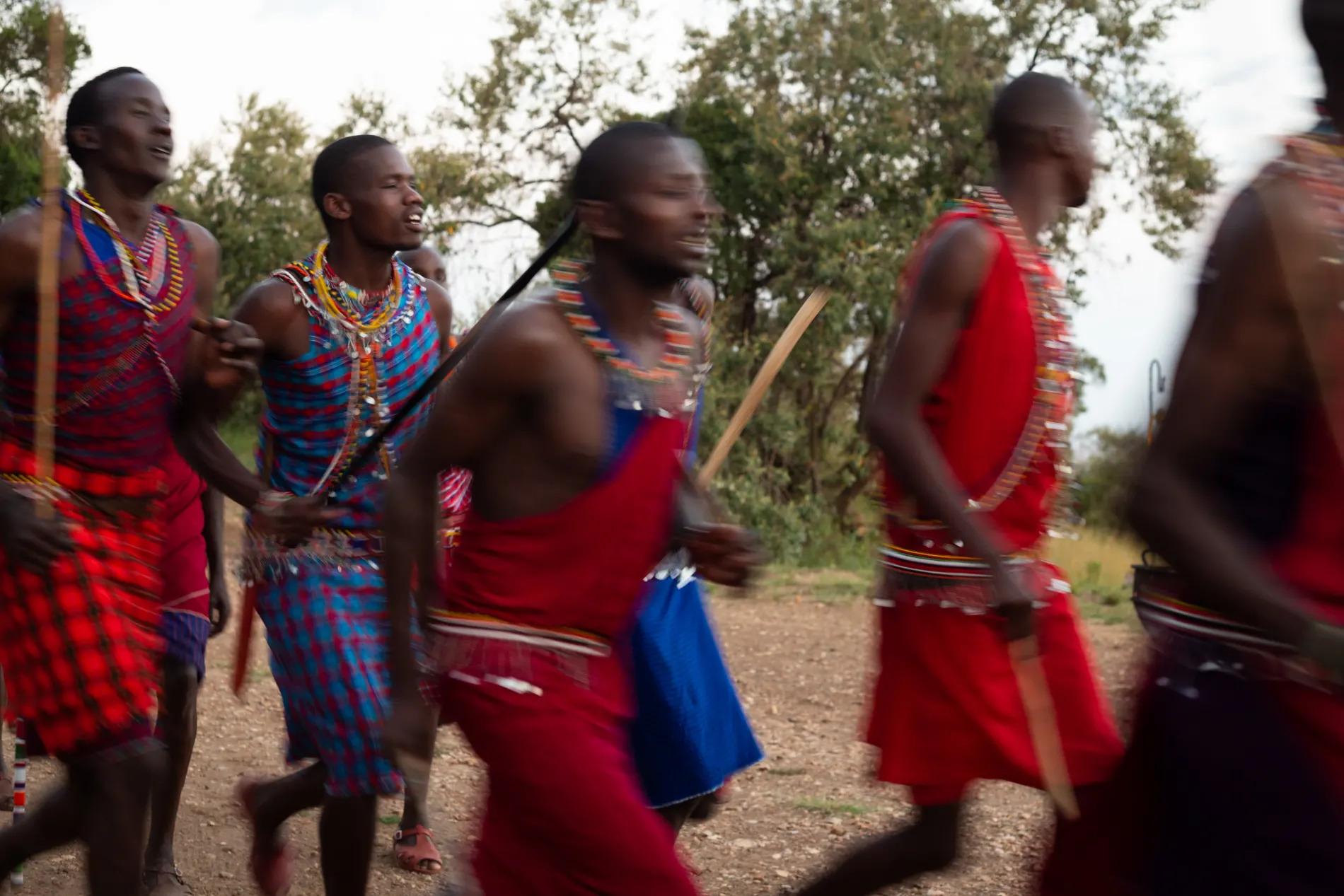 Maasai singing
