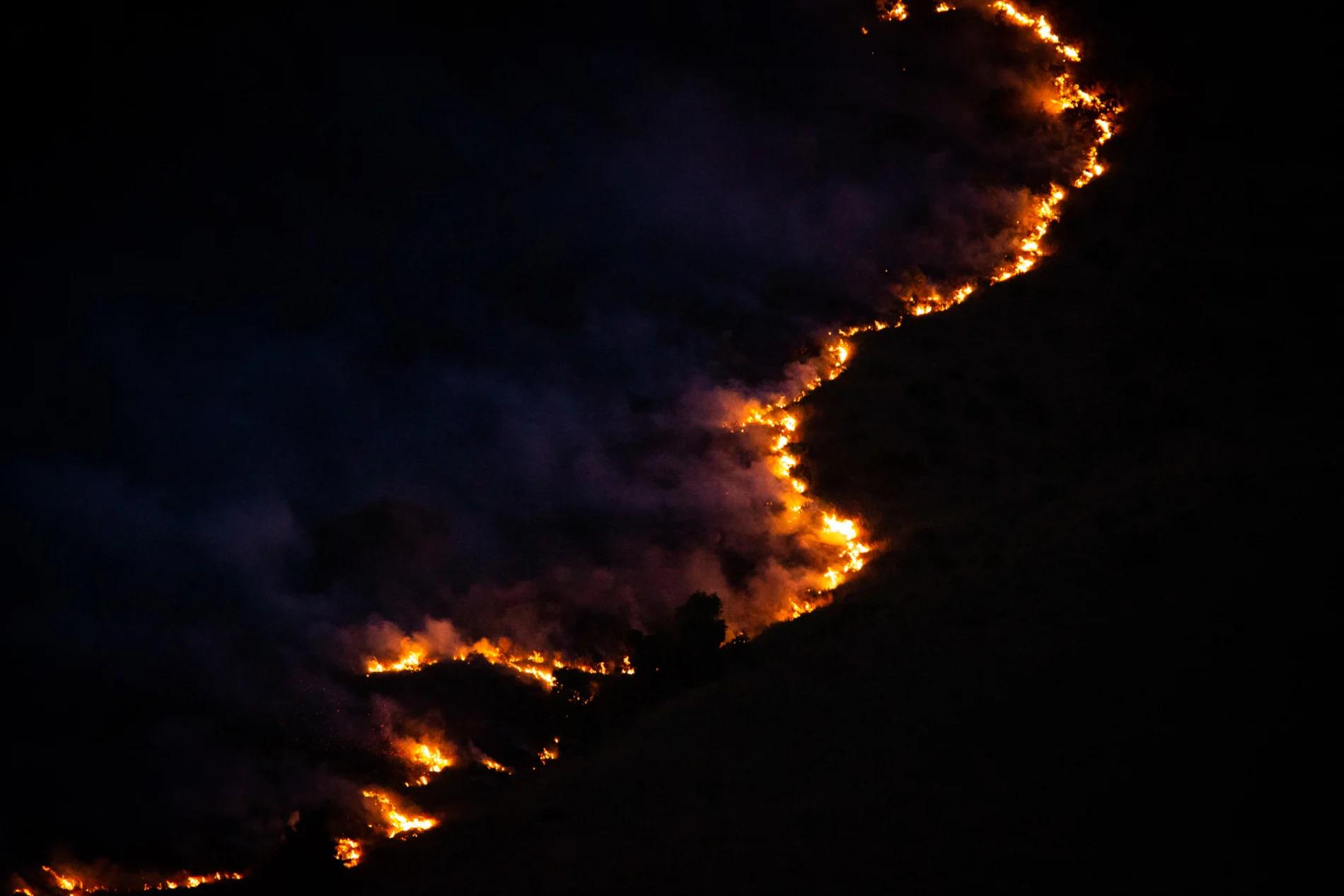 Controlled burn night
