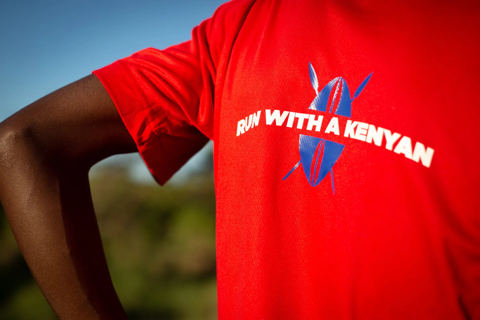 Run with a Kenyan