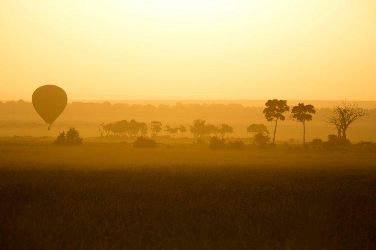 Sunrise stillness in the Mara