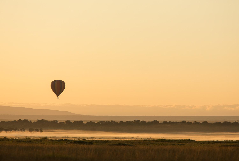 Balloon-and-mist
