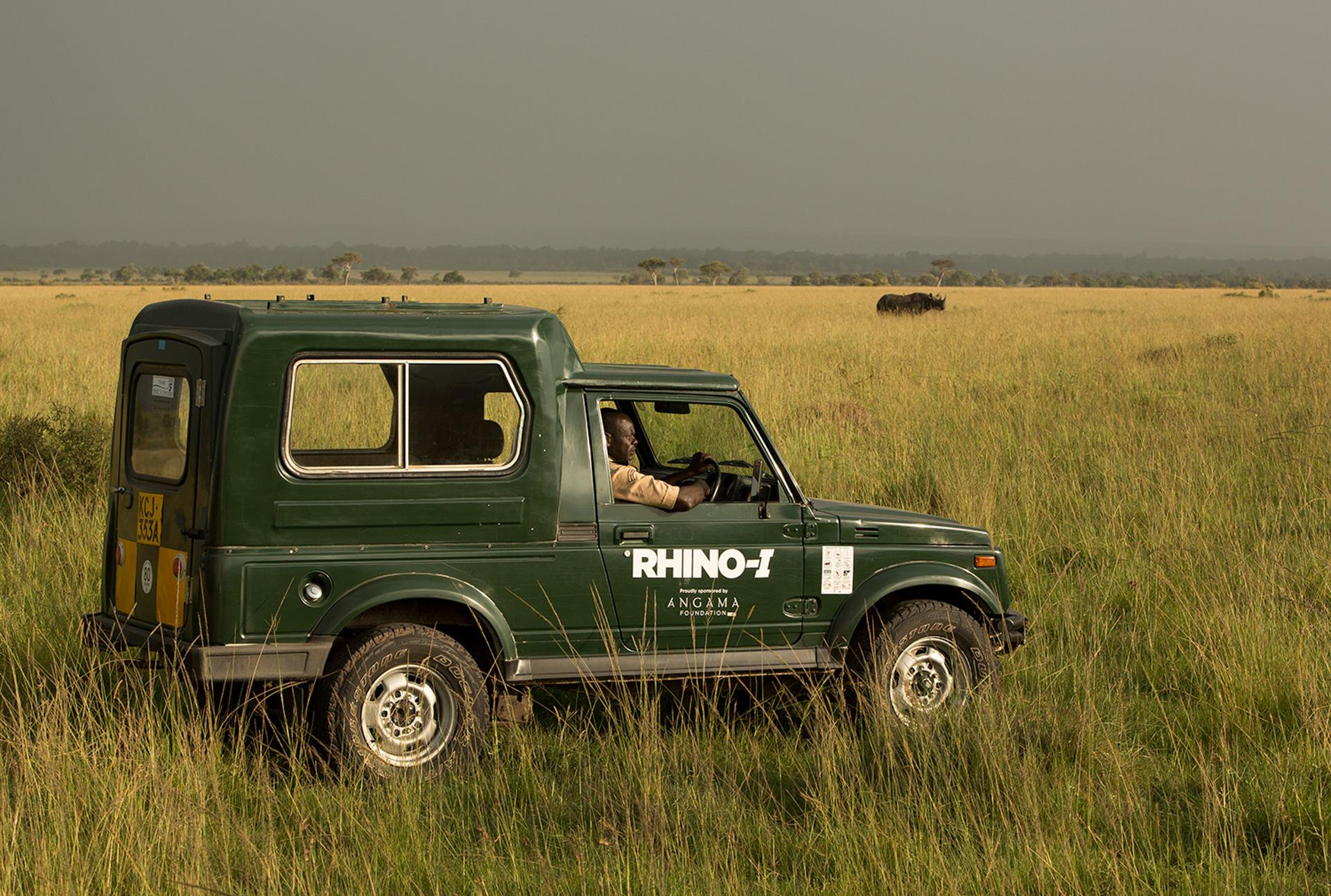 Anti rhino poaching vehicle