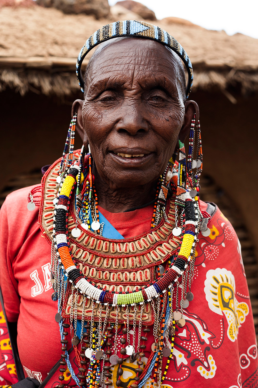 Maasai-lady