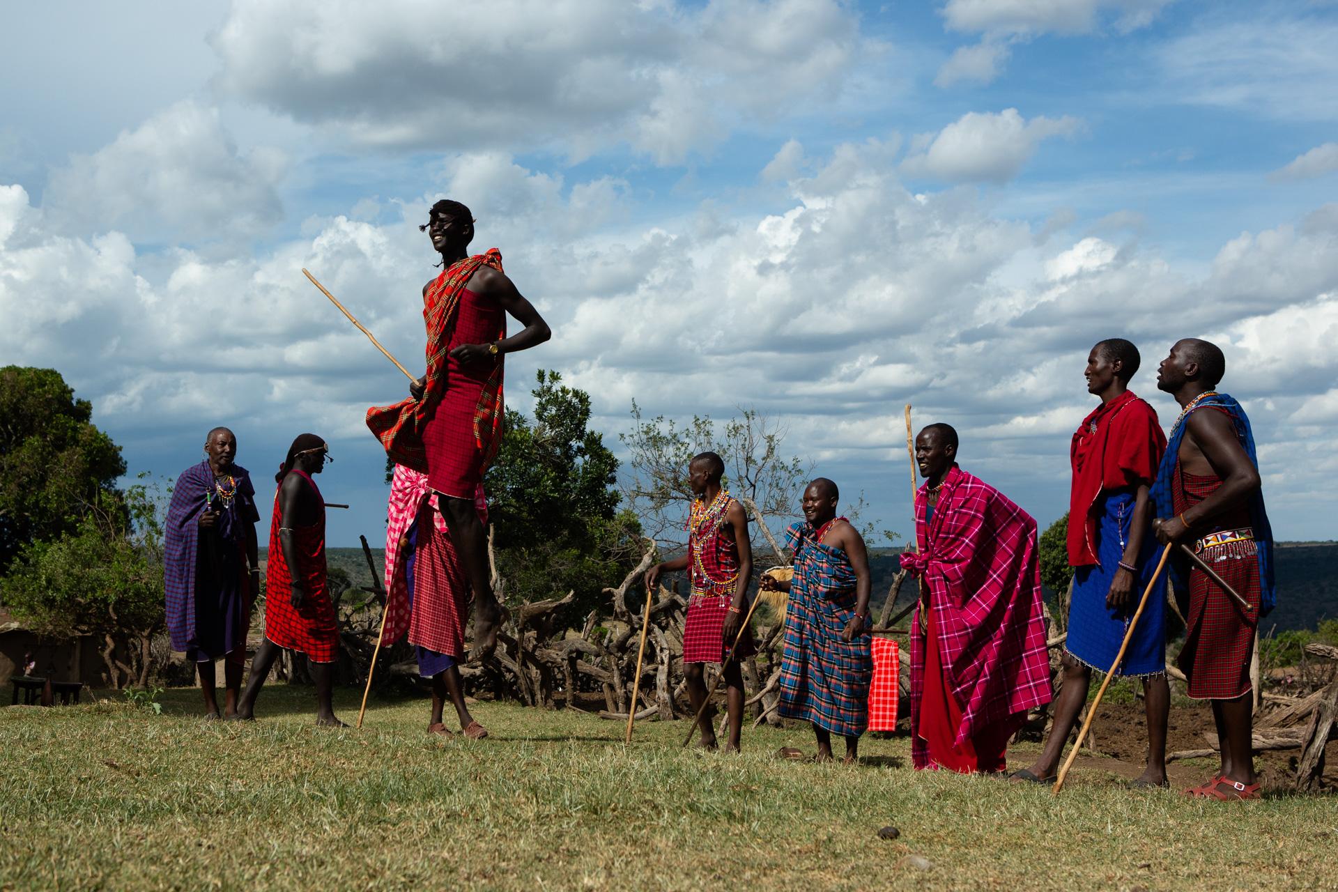 Maasai jump