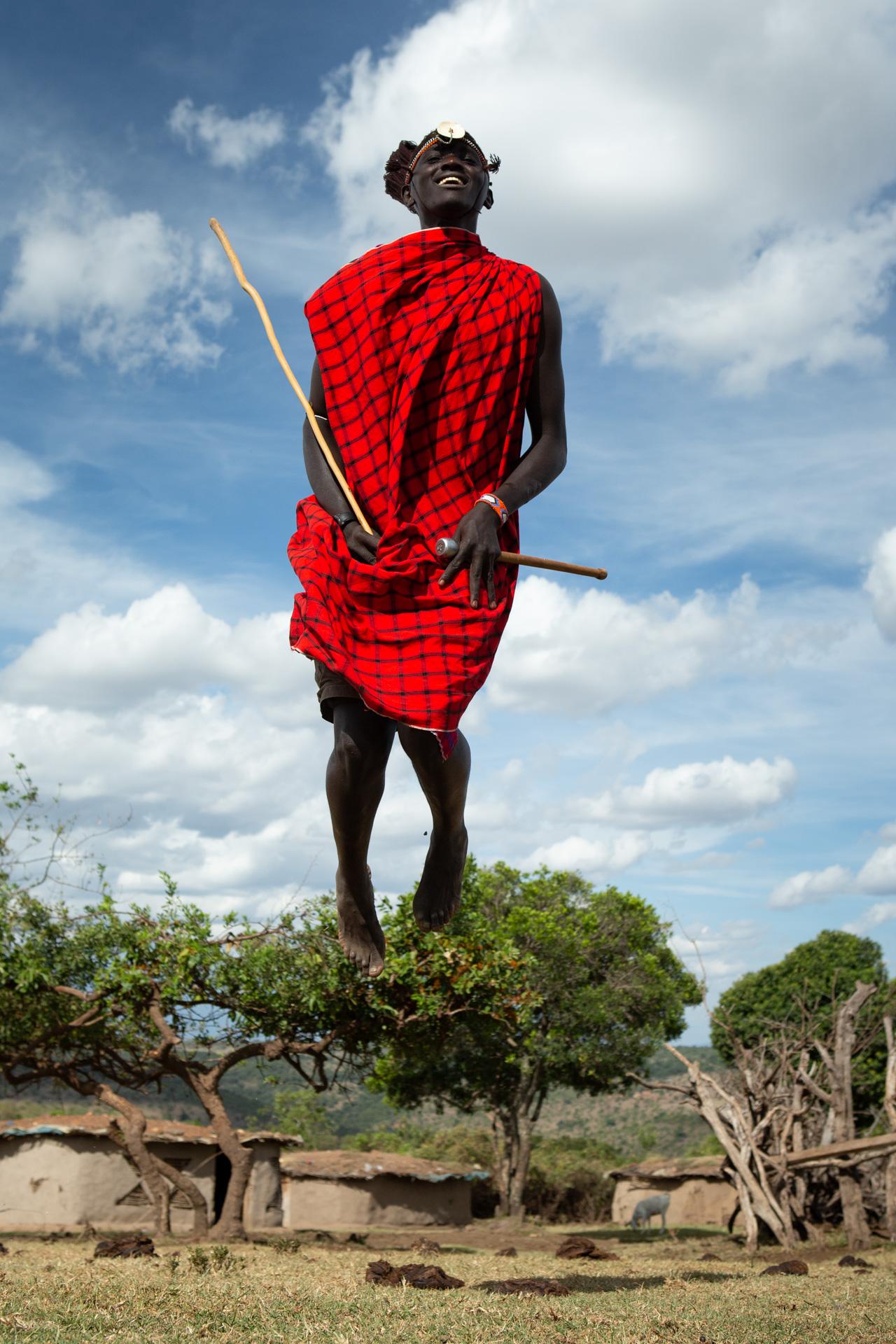 Maasai Jumping