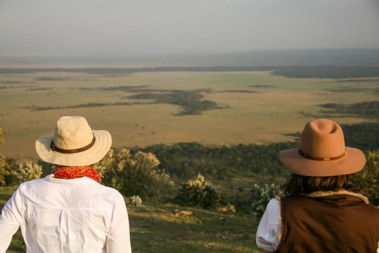 A walking safari