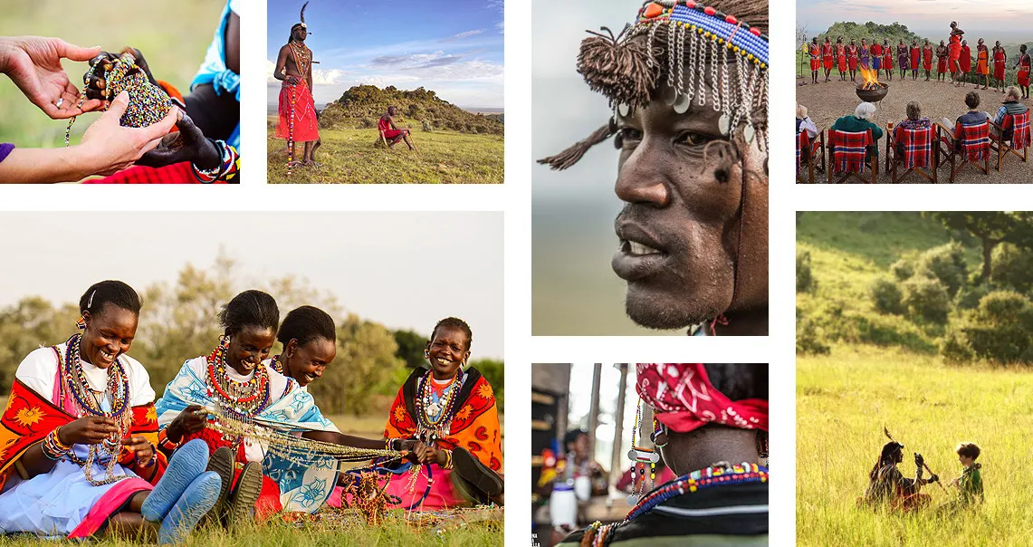 Colours of the Maasai
