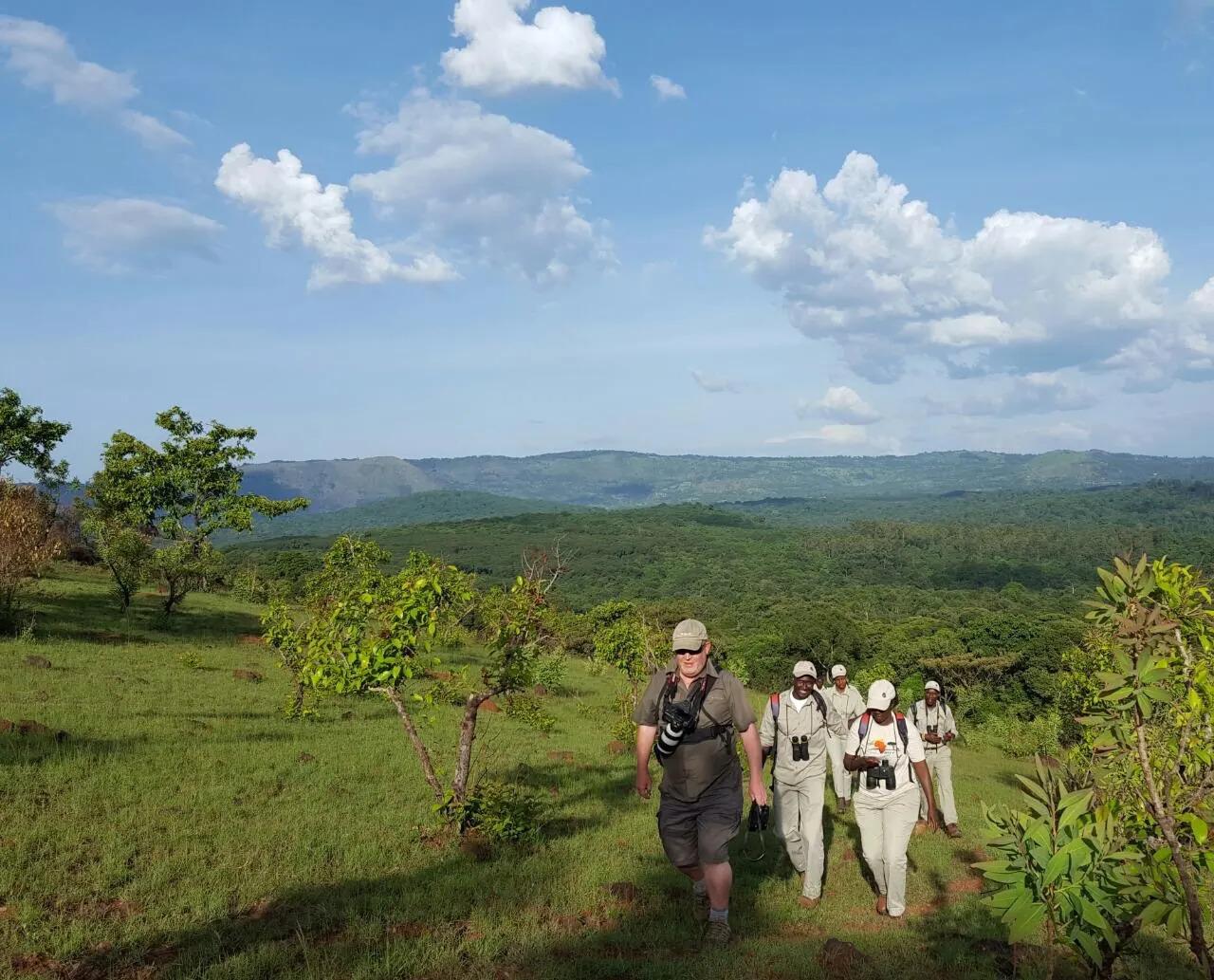 Adam Kennedy in Kakamega Forest