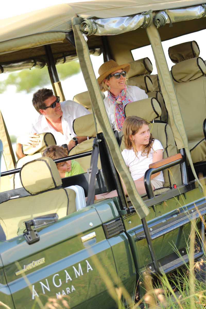 Angama family safari