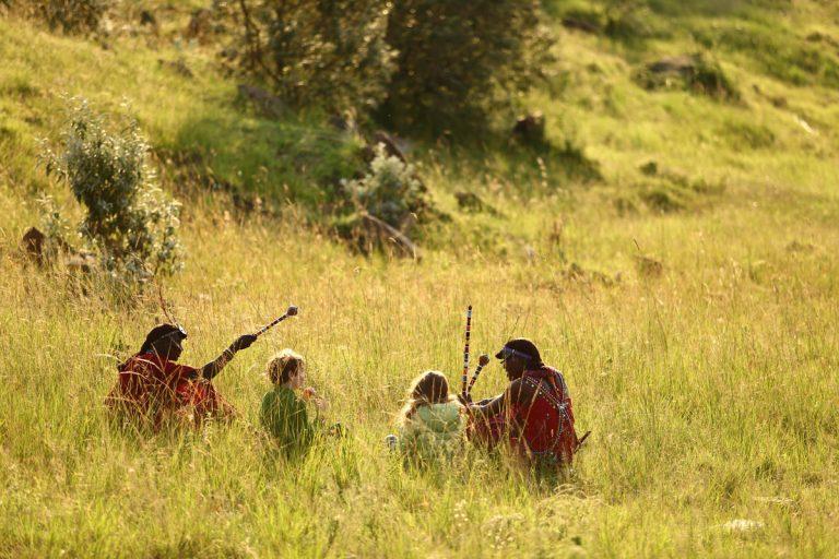 Maasai Warriors teaching about their culture