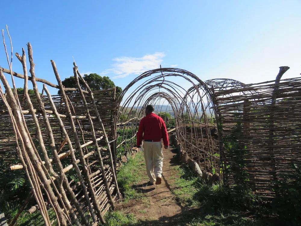 Angama Mara Entrance to the Shamba