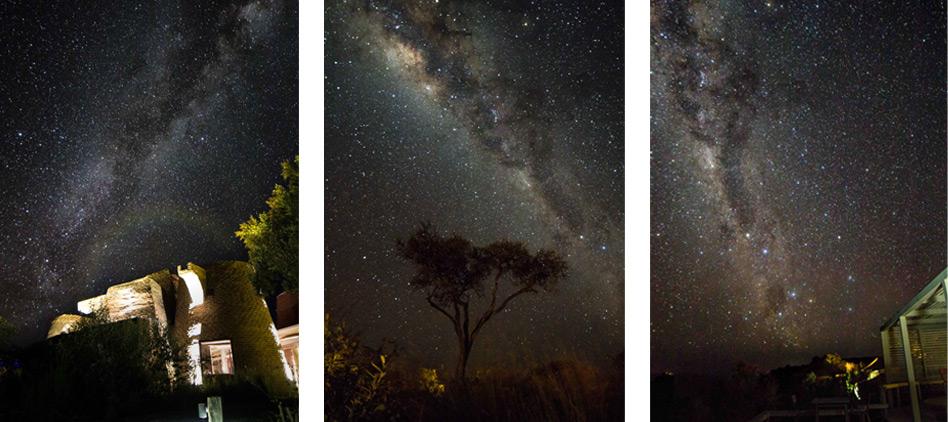 Night sky views from Angama Mara