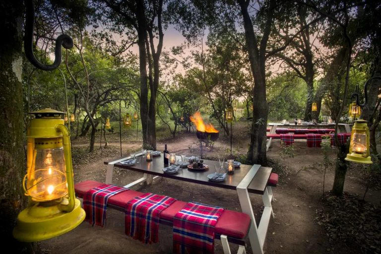 Lovely evenings at the bush barbecue