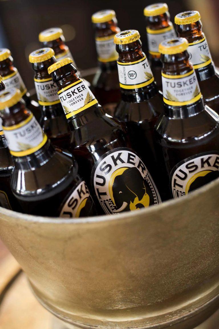 Kenyan Tuskers beer