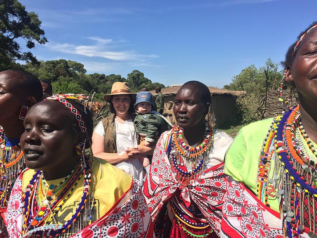 Arriving at the Manyatta