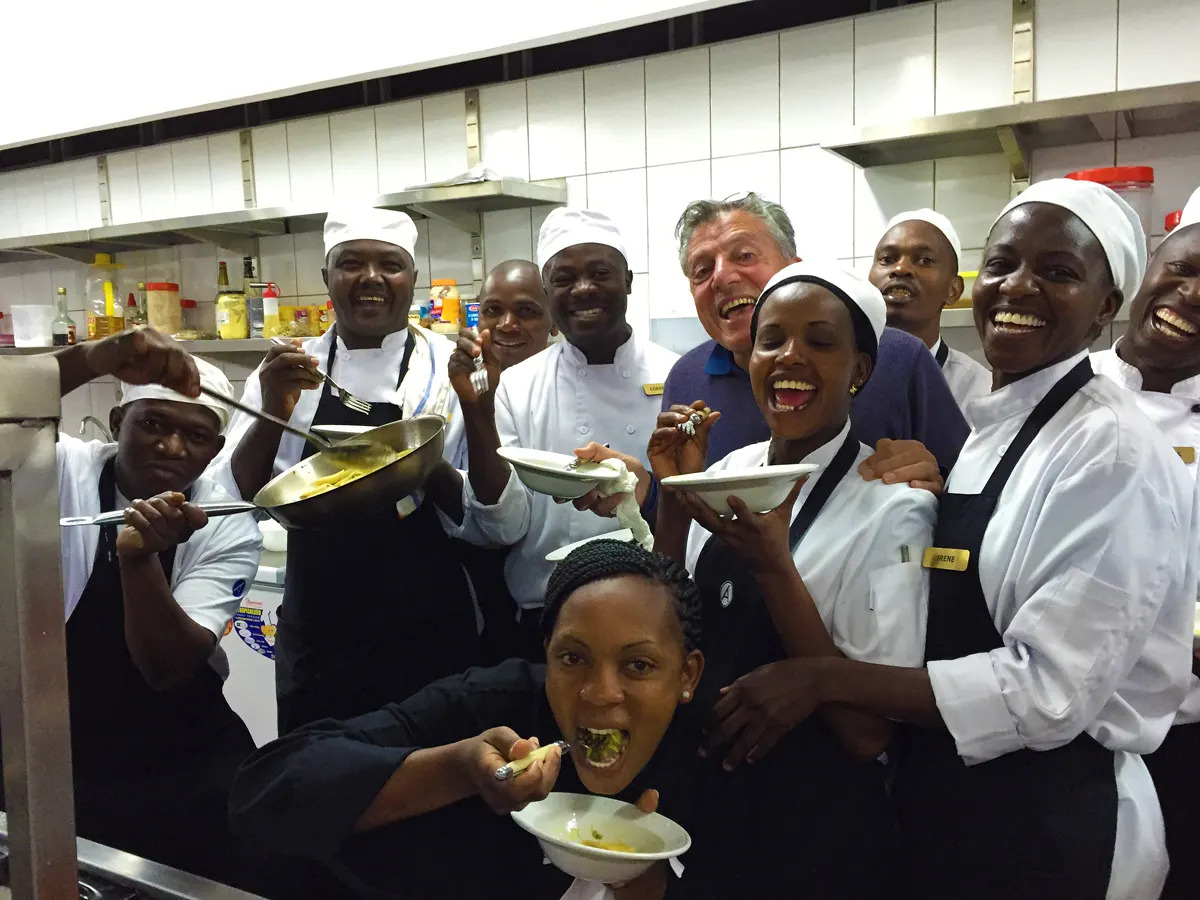 Babbo and the team