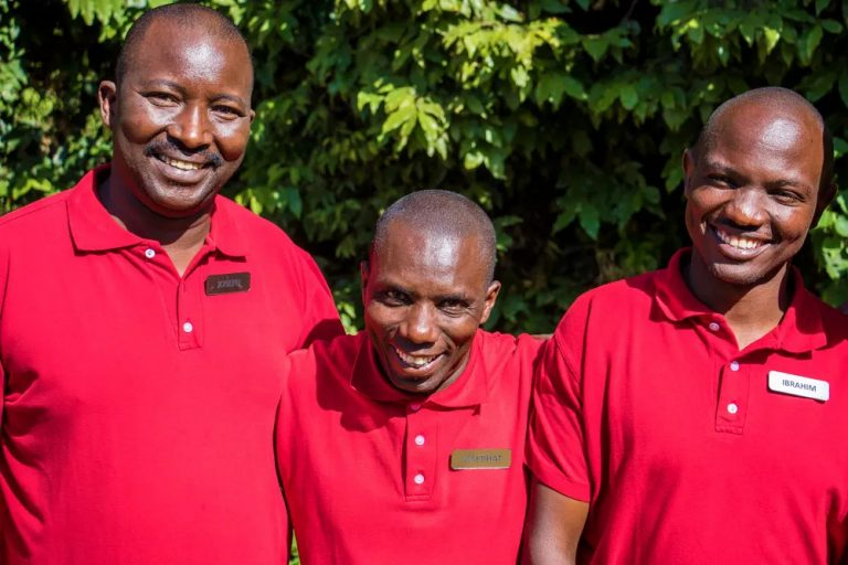Camp Managers Joseph, Josephat & Ibrahim