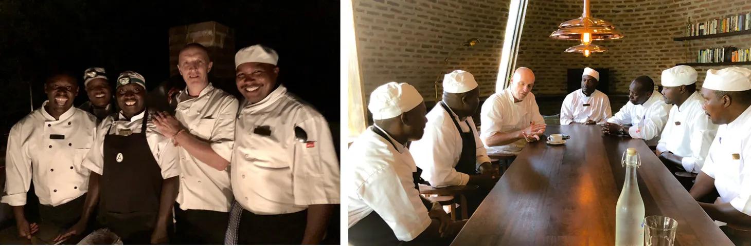 Chef-Graeme and team-collage-2