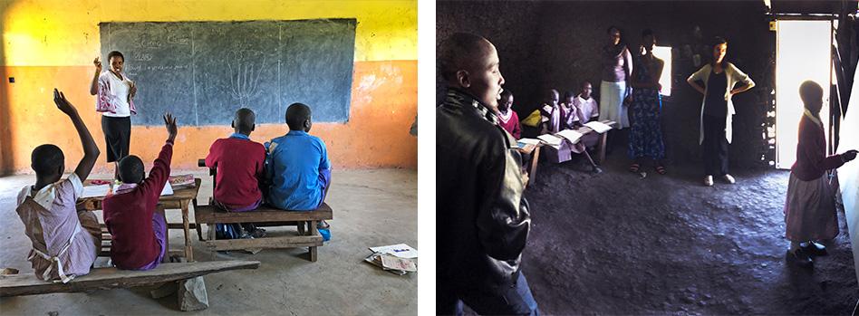 Roy's village classroom
