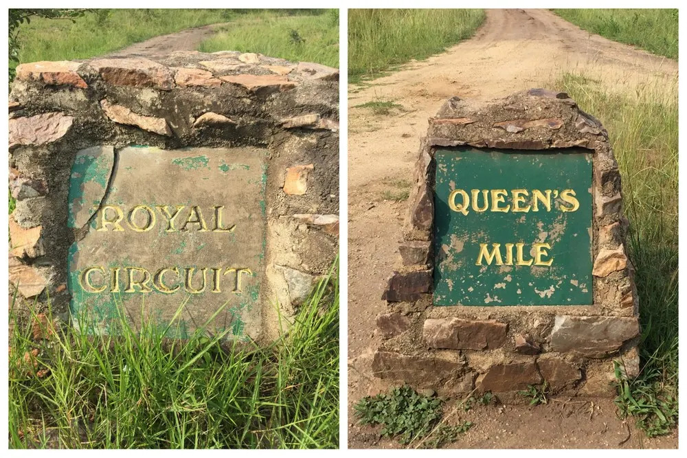 Queen Elizabeth National Park Road names in HRH honour