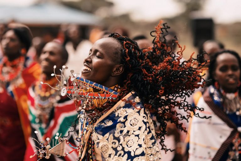 Maasai Traditional Celebration