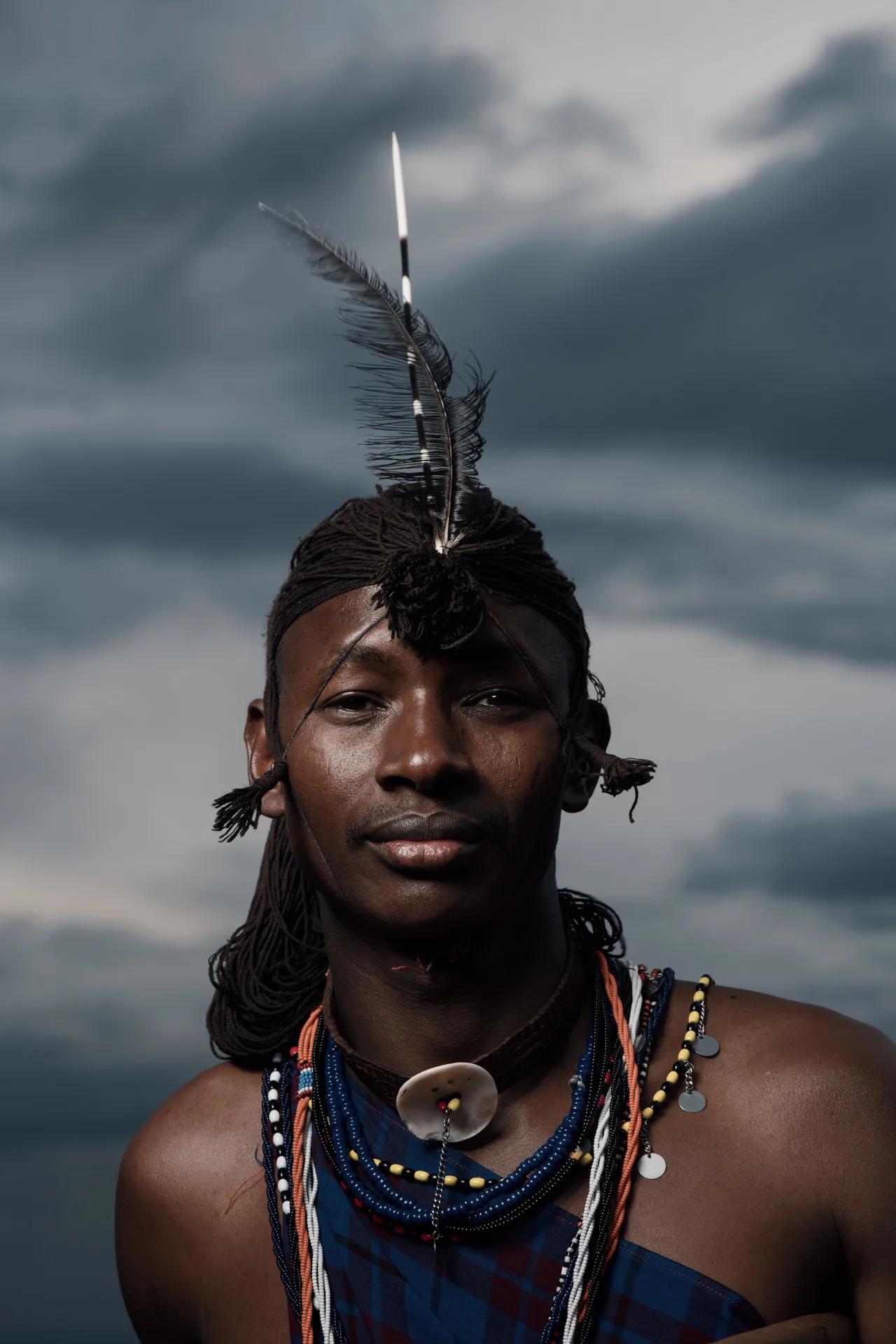 Maasai Headress