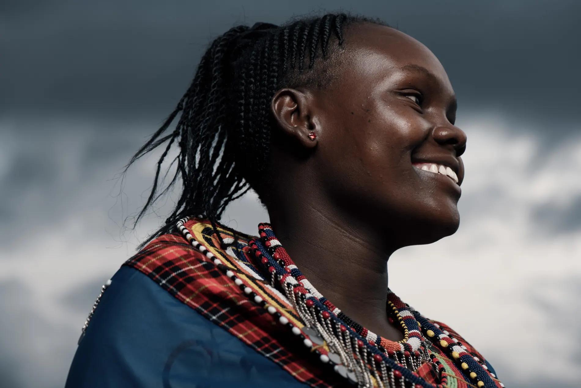 Female Maasai