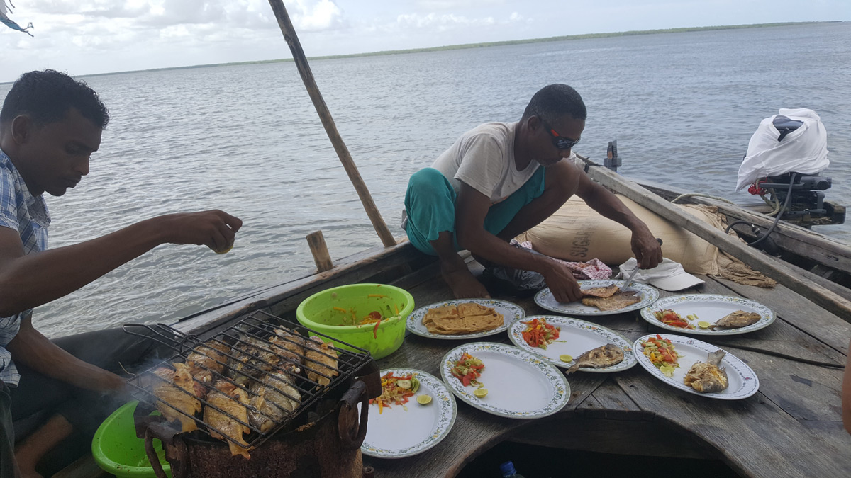 Seafood on Dhow