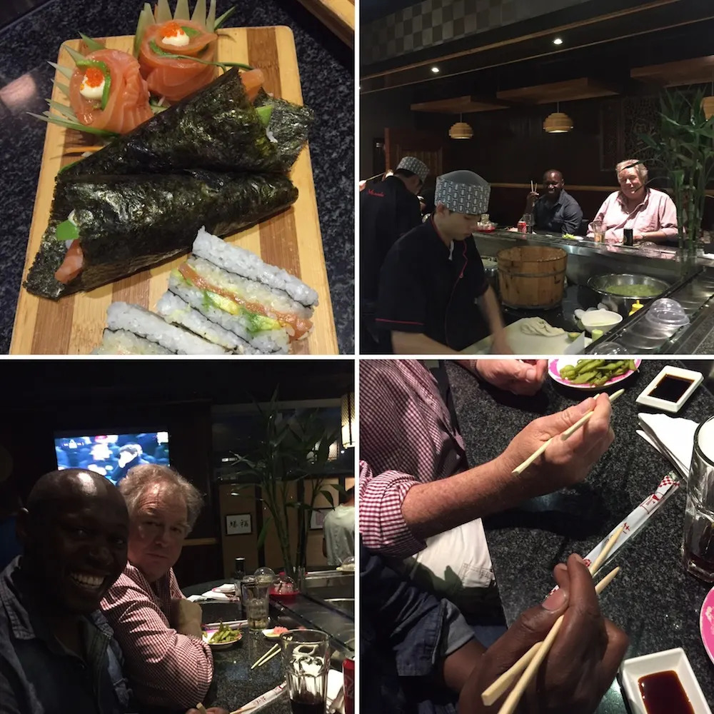 Sushi at Yamada