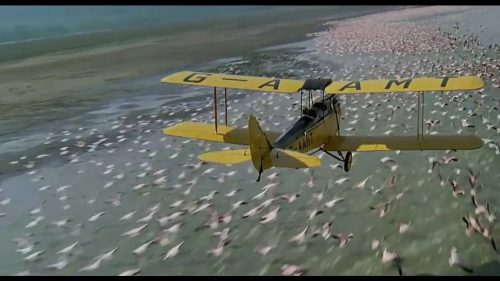 G-AAMY plane as filmed in the movie Out of Africa