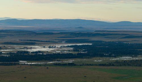 This week a year ago, the  flooded Mara river