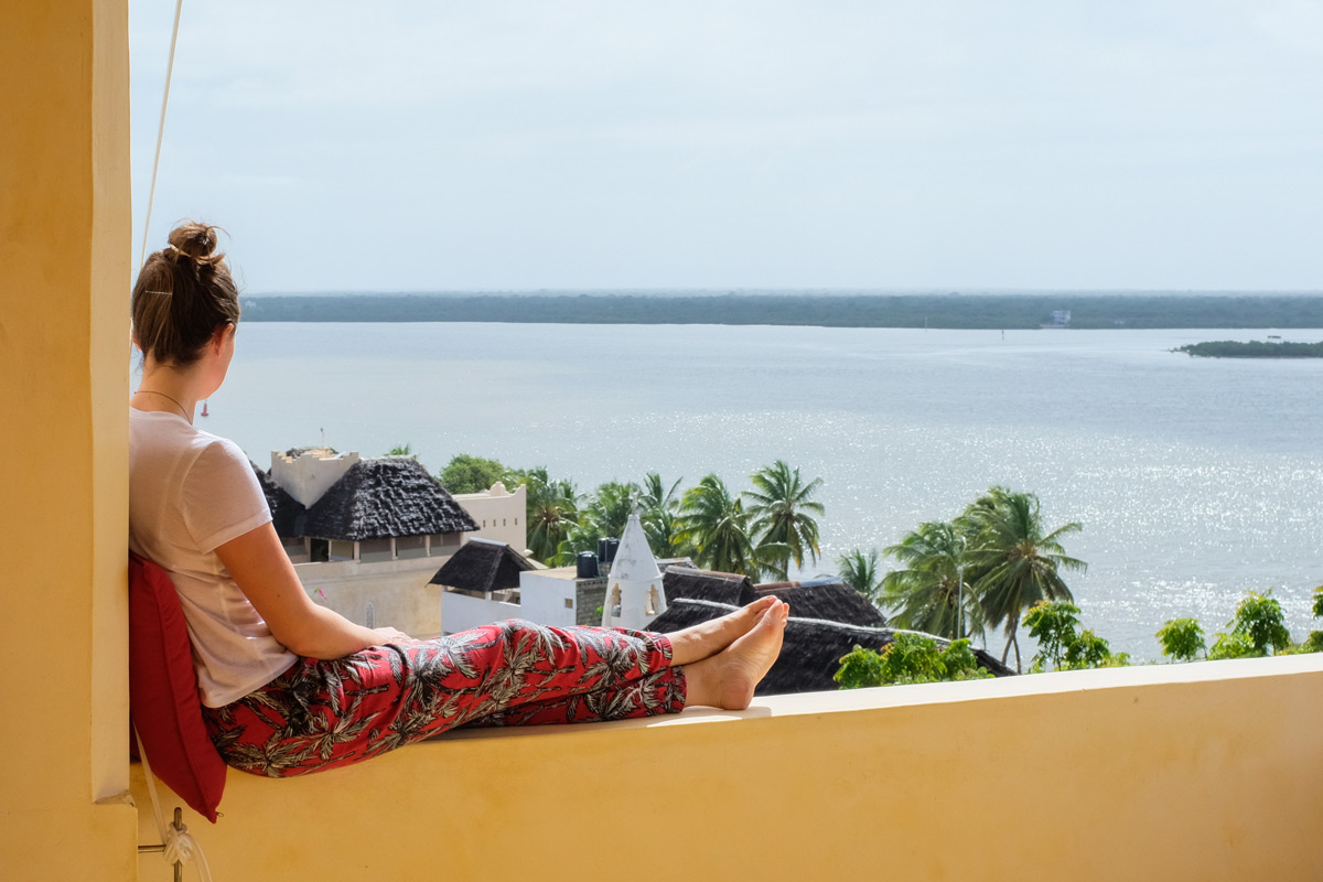 Relaxing in Lamu