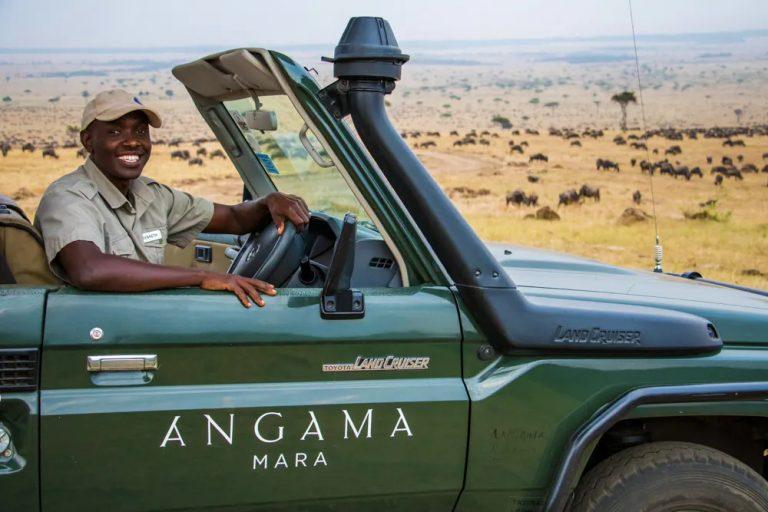 Kenneth on a migration safari