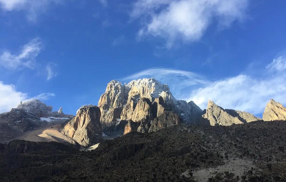 Mount Kenya Peaks