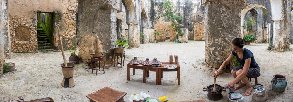 Mtoni Ruins Coffee Ceremony Zanzibar
